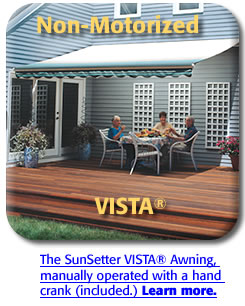 SunSetter VISTA model